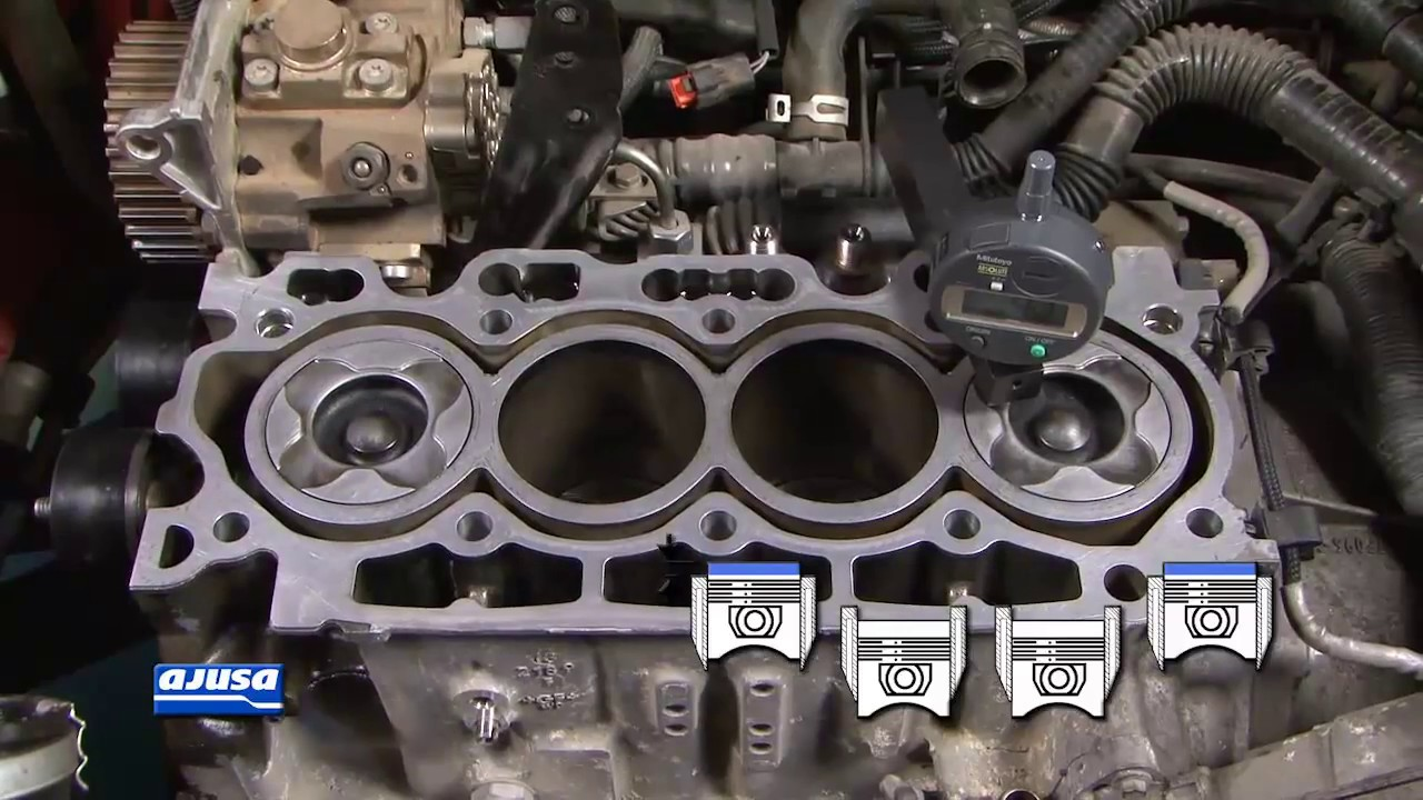 Cylinder Head Gasket / Junta Culata Ford Focus . - YouTube
