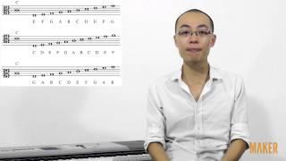Nhạc lý cơ bản 21. Khóa Đô khù khoằm