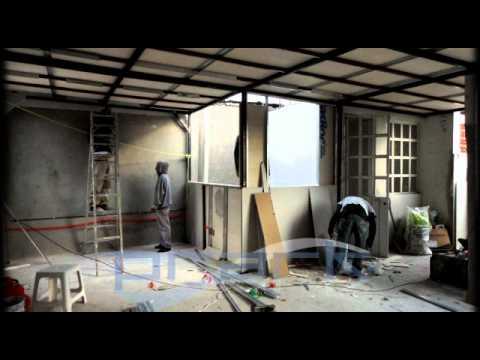 Ampliacion de tercer nivel con muros y techo ligeros de - Techos ligeros para casas ...