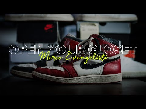 La collezione di Jordan più bella d'Italia: Marco Evangelisti - Open Your Closet ep.2