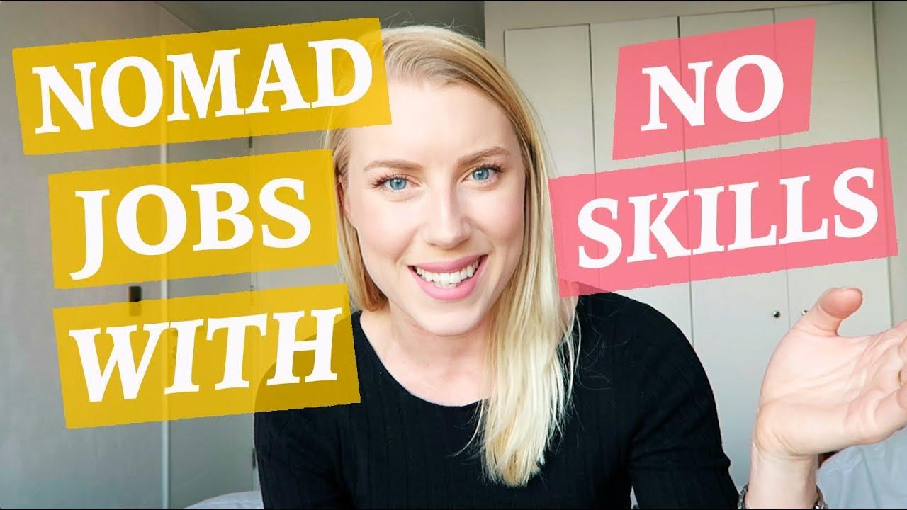 Download Digital Nomad Jobs - WITH NO SKILLS ♡ 50 Job Ideas Part 1