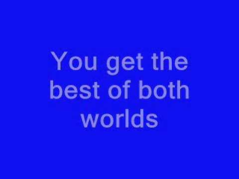 Hannah Montana - Best Of Both World Lyrics