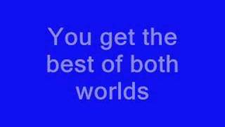 Hannah Montana - Best of both world Lyrics