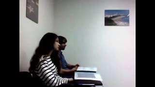 Урок английского языка в группе для двоих (уровень Upper-intermediate) Los Angeles English School