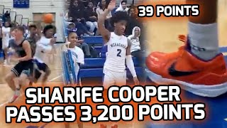 Sharife Cooper Passes 3,200 CAREER POINTS With 39 POINT SHOW! Leads McEachern To Big Win At Home 🏆