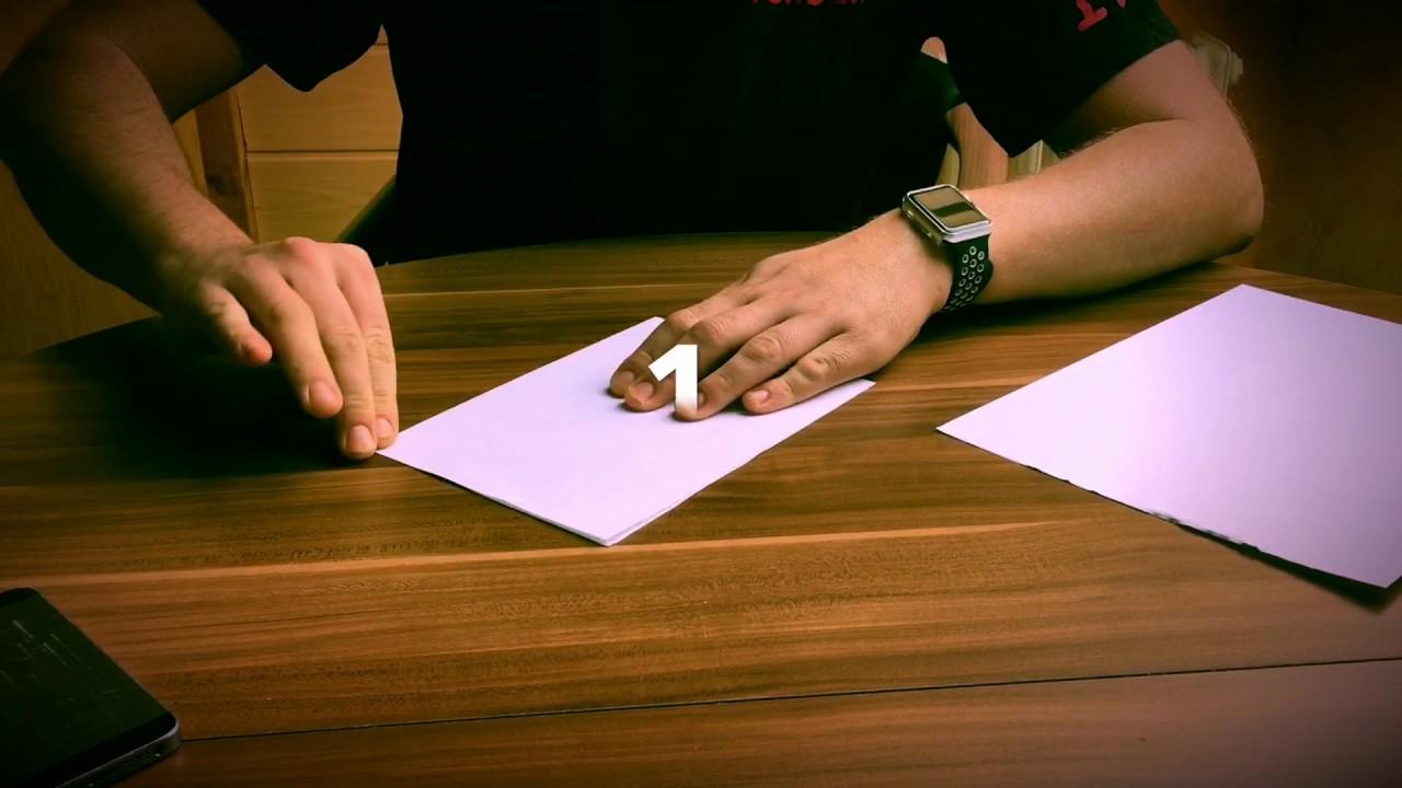 Unglaublich Was Passiert Wenn Man Ein Blatt Papier Versucht 8 Mal