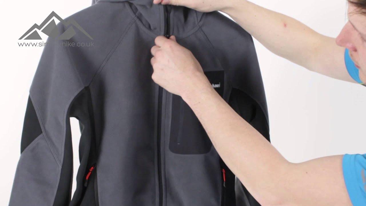 Berghaus Mens Ben Oss Windproof Hooded Jacket