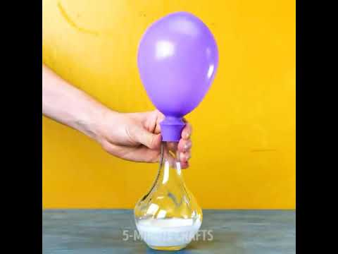 BAKING SODA AND BALLOONS PRANK FOR ALL    5-MINUTES CRAFTS