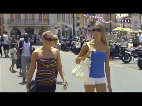 Les tropeziennes - TF1 02 07 2012