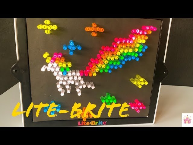 Big Game Toys~LITE Brite Magic Screen Light Bright Premium Pack
