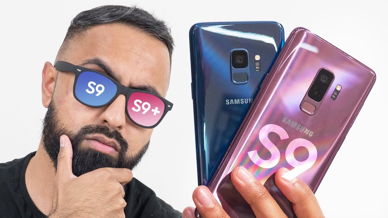 samsung galaxy s9 vs s9 plus youtube. Black Bedroom Furniture Sets. Home Design Ideas
