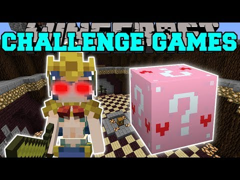 Minecraft: MERMAID CHALLENGE GAMES - Lucky Block Mod - Modde