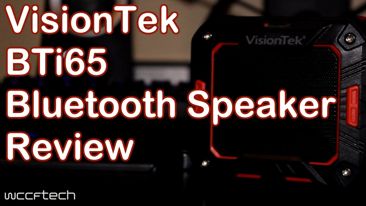 Visiontek BTi65 Bluetooth Speaker Review