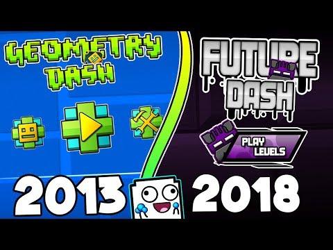¡EL NUEVO GEOMETRY DASH DEL FUTURO VERSIÓN 6.40!