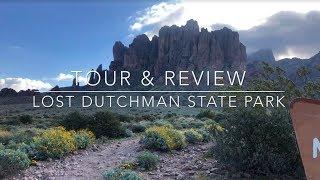 Lost Dutchman State Park near Phoenix Arizona | Arizona State Parks | Arizona Camping