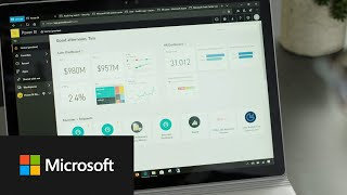 Unify self-service and enterprise business intelligence with Power BI