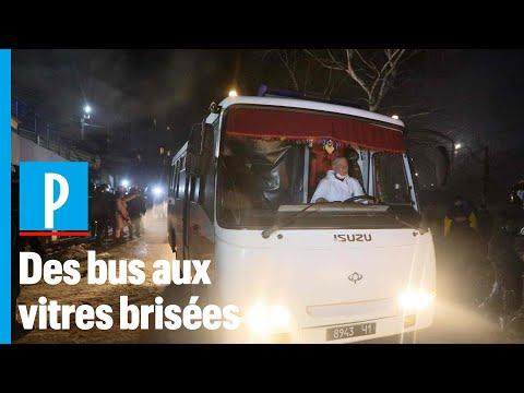 Coronavirus: des ukrainiens attaquent les bus des rapatriés de Chine