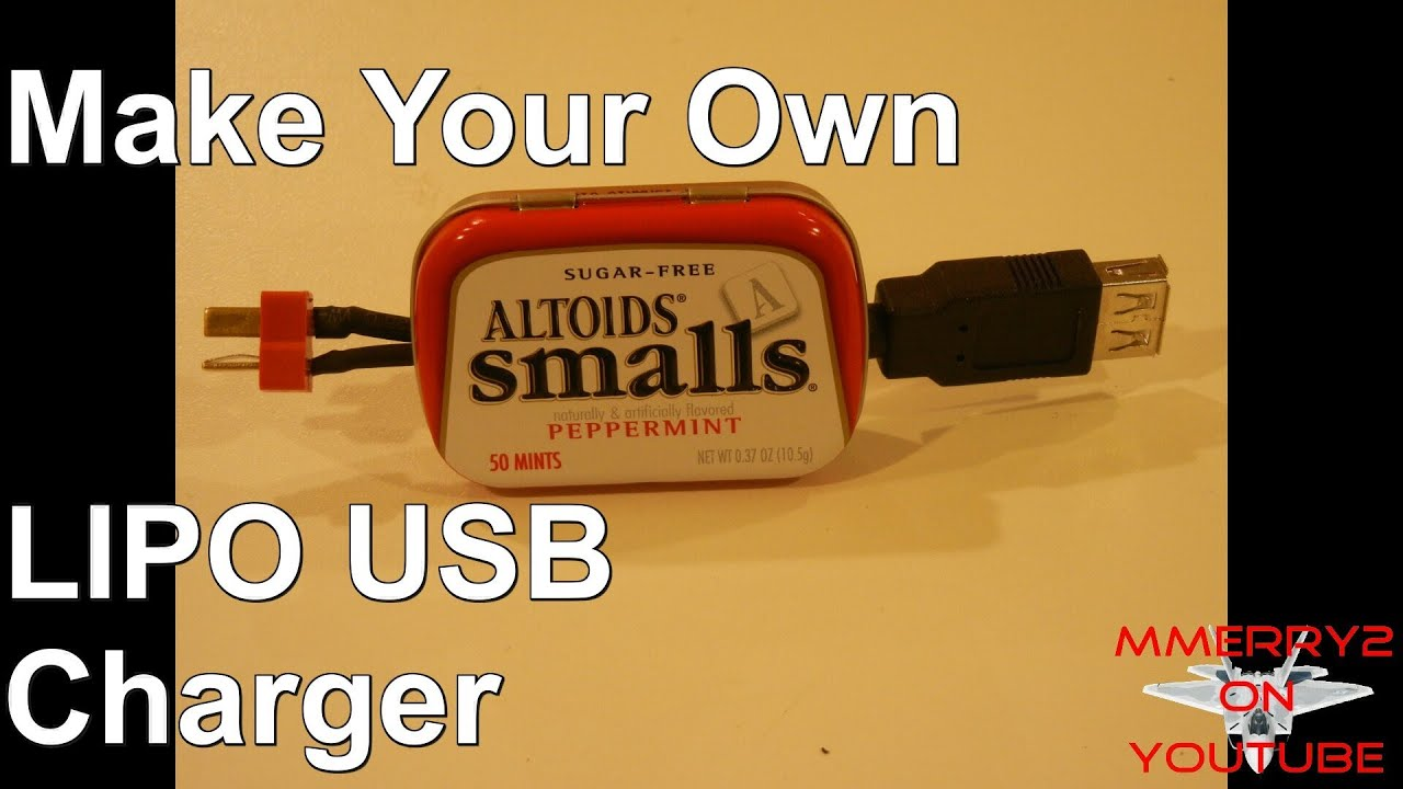 Batterie Aa How To Make Lipo Battery Usb Charger Adapter For Phone