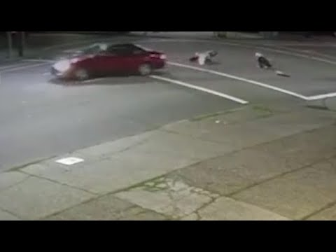 Carson - VIDEO [NE Portland]: Car hits scooter, never slows down