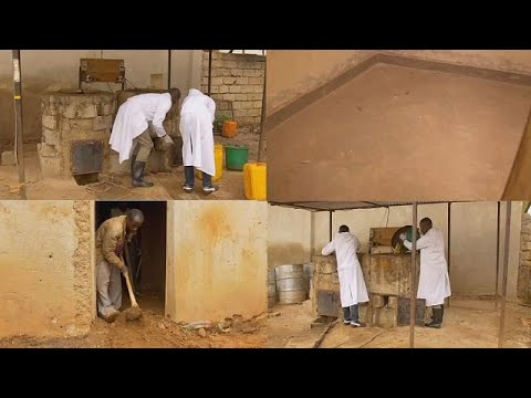 Low cost ''earthen floor'' technology helps to improve the quality of lives in Rwanda