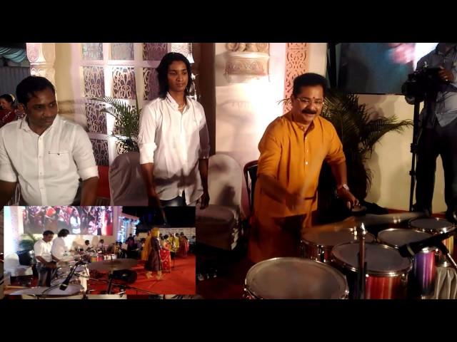 Adesh Bandekar sir playing my Drumm at thane event 2017