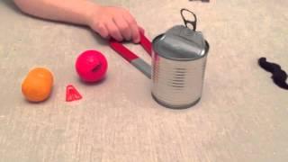 Magneter experiment - Pi och Powerbollarna