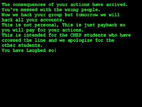 Credit Group Hacked :P