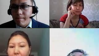Онлайн занятие казахского языка