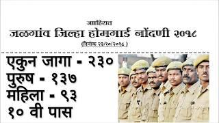 #allgovtjob  Home Guard bharti 2018// Jalgaon Home Guard Bharti 2018