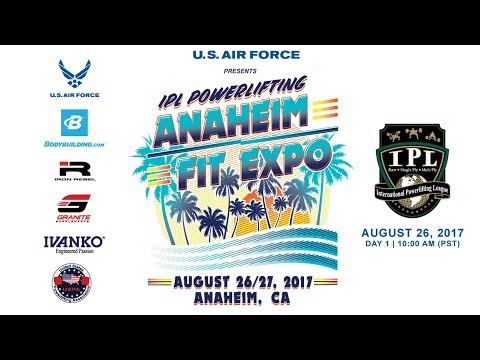 Day 1 | Anaheim Fit Expo USPA & IPL Powerlifting Meet