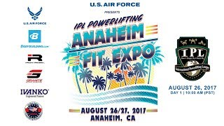 Day 1 | Anaheim Fit Expo USPA & IPL Powerlifting Meet