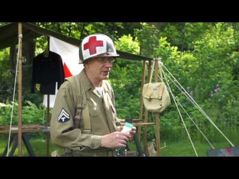 WW2 Medic - US Army First Aid Men