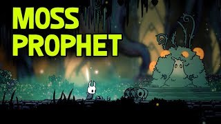 Hollow Knight- Moss Prophet Location and Dialogue (Not Mossbag)