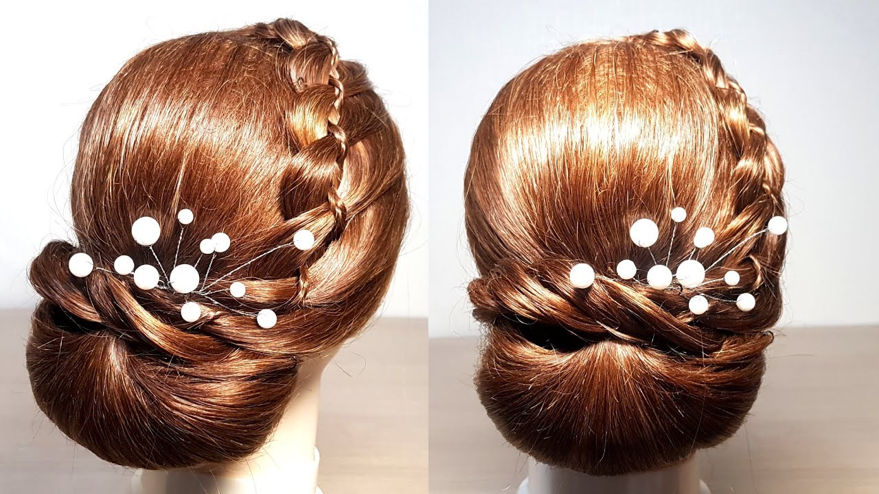 Easy Braided Hairstyles For Beginners Quick Easy Hairstyles For Wedding Guest Hair Style Girl Youtube