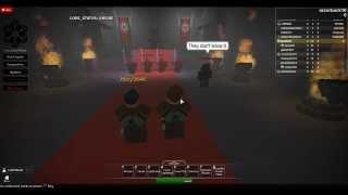 ROBLOX Sith Empire: Confronting the Sith Emperor