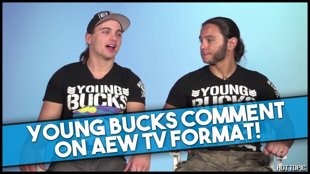 Young Bucks Comment on All Elite Wrestling TV Format & This Could be HUGE!