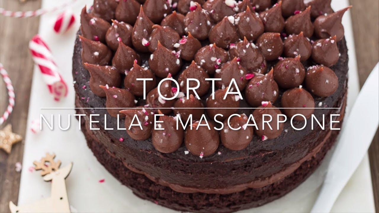 Torta Mascarpone E Nutella Senza Uova E Senza Burro Ricetta Facile