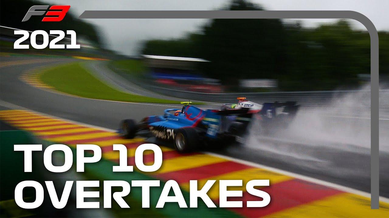 Formula 3 2021 Season: Top 10 Overtakes