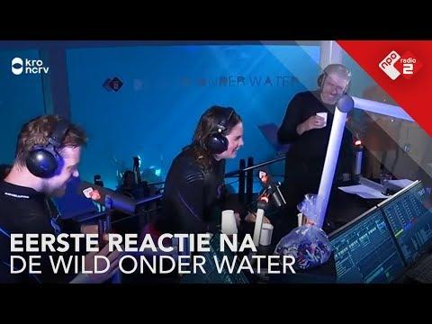 De eerste reactie van het team na De Wild Onder Water | NPO Radio 2