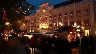 Der Weihnachtsmarkt in der Robert Schumann Stadt zwickau