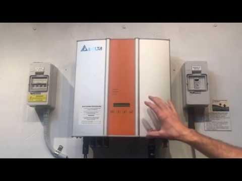 Delta Soliva Solar Inverter Blank Screen - Inverter Dead