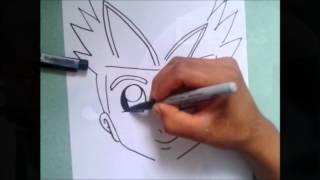 Dibuja Practicando a Pulso a VAN DE ZOIDS XDB