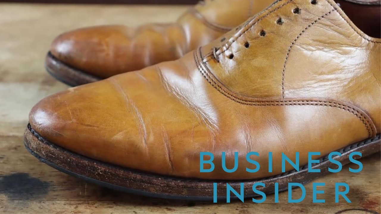 I was featured on BUSINESS INSIDER!!! Before & After look at a RESTORATION: Allen Edmonds Carlyles
