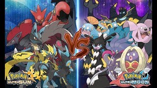 Pokemon Battle USUM: Cool Pokemon Vs Ugly Pokemon