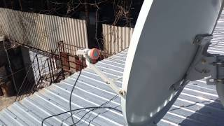 Як налаштувати супутникову антену на 53 градус