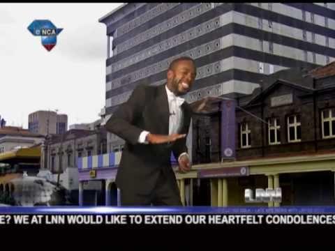 Late Nite  with Loyiso Gola  David Kibuuka is in Kenya