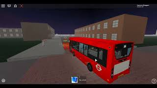 Roblox London Hackney & Limehouse bus Simulator First Day NEW Facelift E200 One Door Demo Route 309
