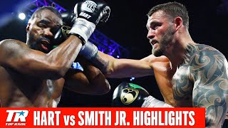Smith Jr. outboxes Hart | Full Fight Highlights
