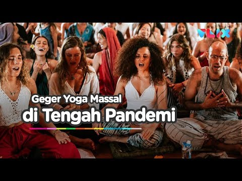 Kontroversi Yoga Massal di Tengah Pandemi Covid-19