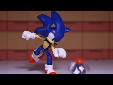 New Sonic Hedgehog Dr Eggman Robotnik BENDABLE ACTION FIGURE Jakks Pacific MOVIE